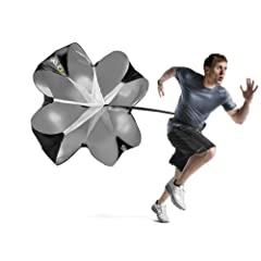 Buy SKLZ Speed Resistance Training Parachute with Free SKLZ Carry Bag by SKLZ