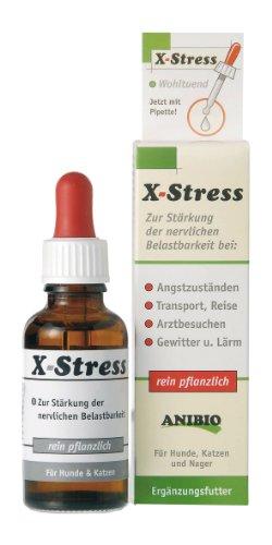 Artikelbild: Anibio X-Stress 30ml Ergänzungsfutter für Hunde und Katzen, 1er Pack (1 x 0.03 kg)
