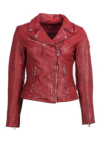 Gipsy by Mauritius -  Giacca  - pelle - Donna rosso L
