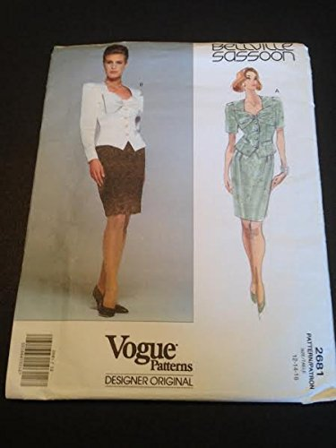 vogue-2681-sewing-pattern-misses-top-skirt-size-12-14-16-bellville-sassoon