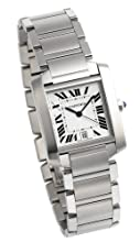 Cartier Men s W51002Q3 Tank Francaise Automatic Watch