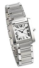 Cartier Men s W51002Q3 Tank Francaise Automatic Watch