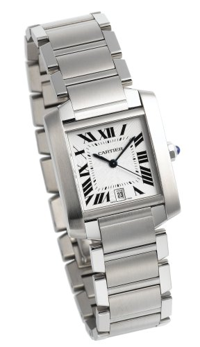 Cartier Men's W51002Q3 Tank Francaise Automatic Watch