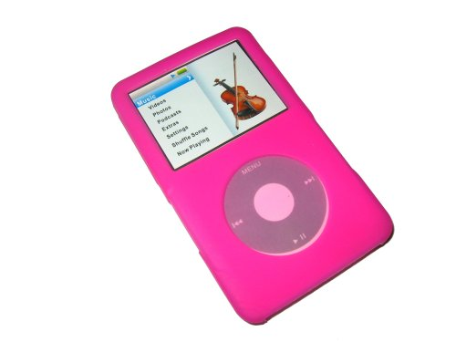 igadgitz-pink-silicone-skin-case-cover-for-apple-ipod-classic-80gb-120gb-latest-6th-generation-160gb