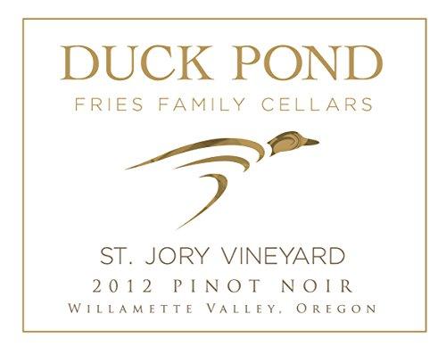 2012 Duck Pond Cellars St. Jory Vineyard Willamette Valley Pinot Noir 750 Ml