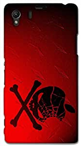 Prominent 3D multicolor printed protective REBEL mobile back cover for Sony Xperia Z1 C6902/L39h - D.No-DEZ-2349-s39