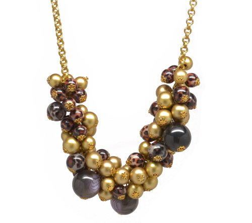 Wild Bead Statement Necklace