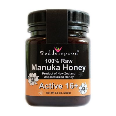 Wedderspoon Organic - 100% Raw Manuka Honey, active 16+, 8.8 oz honey