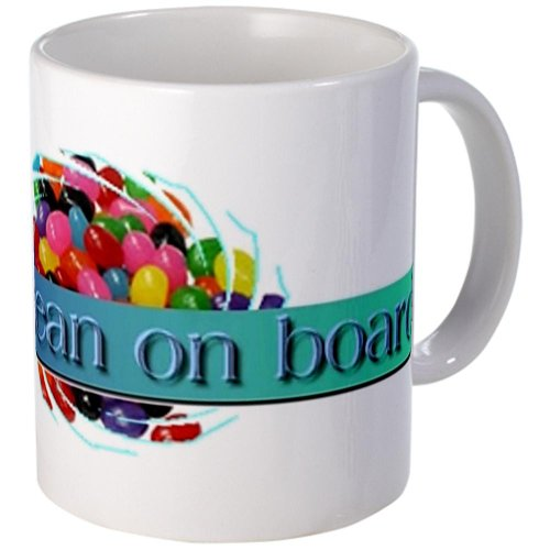 Cafepress Jelly Bean On Board Coffee Mug - Standard