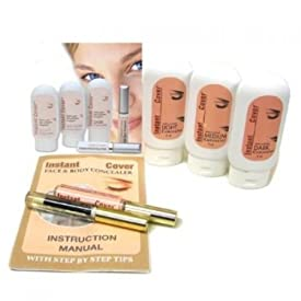 Milex Dark Eyes Circles Instant Cover Skin Concealer Complete Kit As Seen on TV - Beautiful Eyes Makeup
