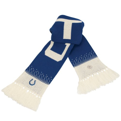 Nfl Indianapolis Colts Women'S Magic Mountain Scarf, Royal front-976819
