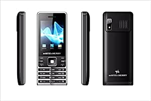 Surya WHITECHERRY Heavy Battery Dual Sim Mobile Phone in Black Colour