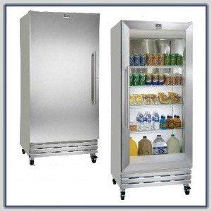Kelvinator KGM220RHY 19.7 Cu. Ft. Glass Door Refrigerator