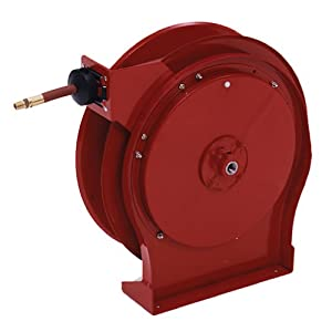 Reelcraft 5650-OLP 3/8-Inch x 50 Spring Driven Air Hose Reel at Sears.com