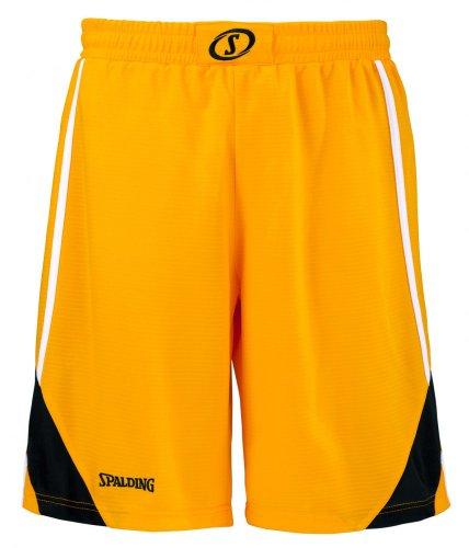 Spalding-Pantaloncini da uomo, UOMO, Bekleidung Teamsport Crunchtime Shorts, giallo - giallo, XXS