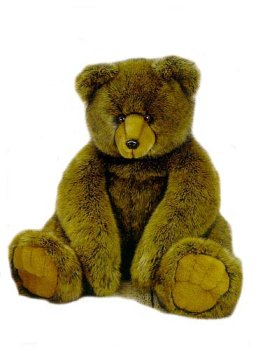 Plush Bruiser Bear 39''