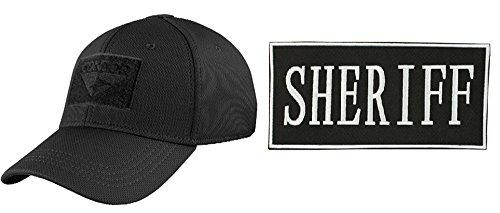 [Condor Flex Stealth Black Cap Large/XL + ENFORCEMENT ID PATCH 2