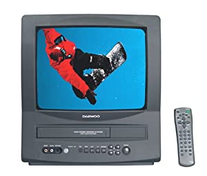 Daewoo DVQ13H1FC 13-Inch TV / VCR Combo
