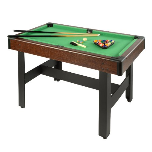 Learn More About Voit Billiards Pool Table with Accessories, 48-Inch