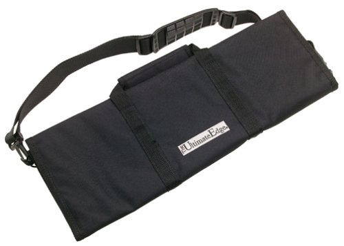 The Ultimate Edge 2001-12BN 12-Piece Knife Roll, Black