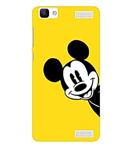 EPICCASE the mickey mouse Mobile Back Case Cover For Vivo V1 Max (Designer Case)