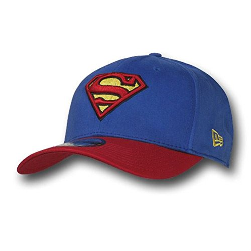Superman 39Thirty Blue & Red Baseball Cap