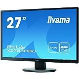 "iiyama Prolite X2783HSU-B1 Ecran PC LED 27"" (67 cm) 1920 x 1080 2 ms VGA/DVI/HDMI"
