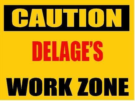 6-caution-delage-work-zone-vinyl-decal-bumper-sticker