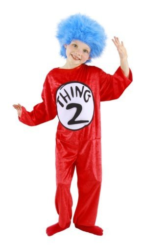 Thing 1 & 2 Toddler Costume