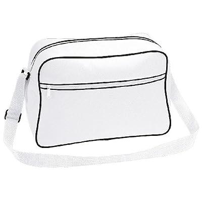 Bagbase retro Shoulder Bag in White and Black