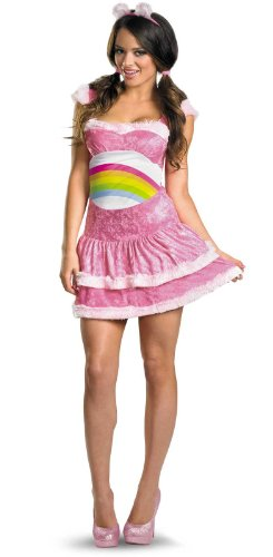 Care Bears Sassy Cheer Bear Adult Costume (Adult Care Bears Cheer Bear Costume)