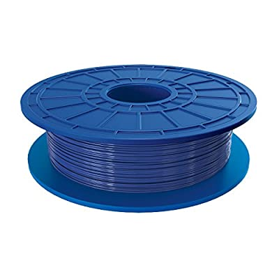 Dremel PLA 3D Printer Filament, 1.75 mm Diameter, 0.5 kg Spool Weight, Blue