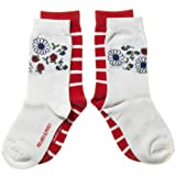 POLARN O. PYRET 2-Pack Bloom & Stripe Socks (Child)