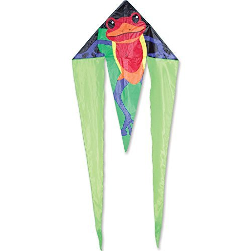 45 In. Flo-Tail Delta - Poison Dart by Premier Kites