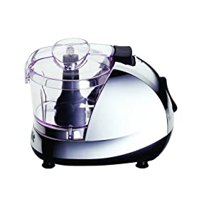 Dualit 88220 260-Watt 17-1/2-Ounce Mini Chopper with High and Low Speeds, Chrome