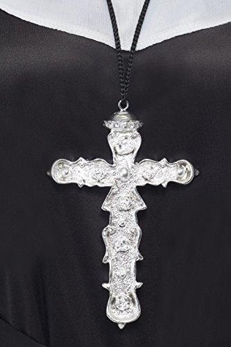 Smiffys Pendente a forma di Croce Ornata