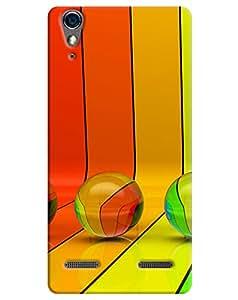 FurnishFantasy 3D Printed Designer Back Case Cover for Lenovo A6000