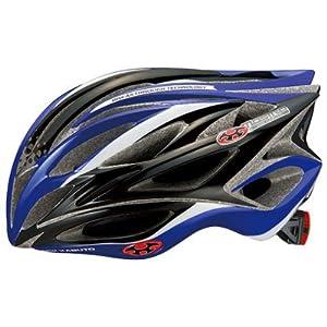 自転車の 自転車 ヘルメット キッズ おすすめ : ... ブラックブルー L ヘルメット