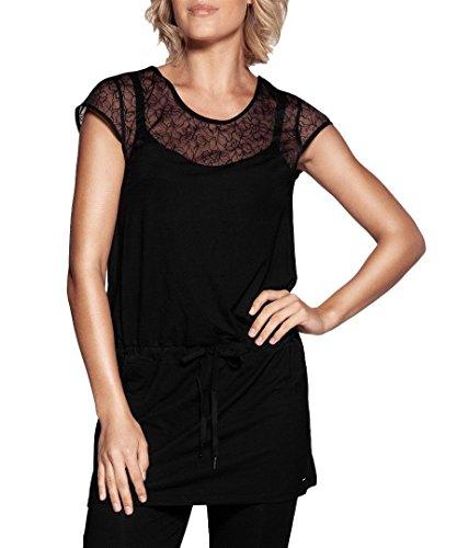 berlei-b5028-gossard-tunica-tunique-pigiama-pigiama-pj-top-baby-doll-black-44