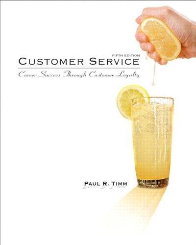 Customer Service: Career Success Through Customer