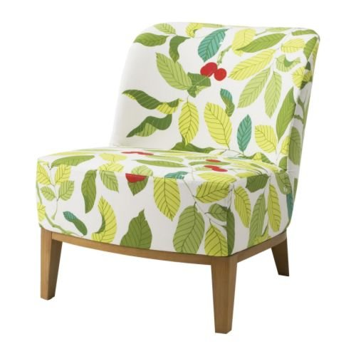 Amazon.com - Ikea Stockholm Easy Chair Slipcover (Blad Multicolor