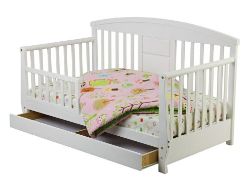 SALE Childrens Dream On Me White Deluxe Toddler Day Bed