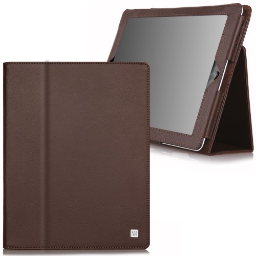 CaseCrown Bold Standby Case (Brown) for iPad 4th Generation with Retina Display, iPad 3 & iPad 2 (Built-in magnet for sleep / wake feature)