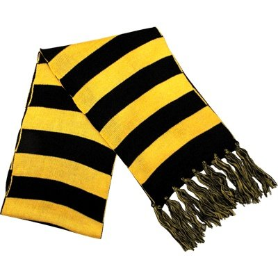 Scarf Black & Gold Stripe at SteelerMania