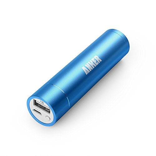 Anker Astro Mini 3200mAh 超小型・スティックタイプ モバイルバッテリー 5V/1A iPhone6、iPhone5S、5C、5、4S/iPad Air/iPad Mini Retina/iPad Mini/iPad/iPod/Galaxy/Xperia/ASUS/Android/各種スマホ Wi-Fiルータ等対応(日本語説明書付き)【PowerIQ搭載】