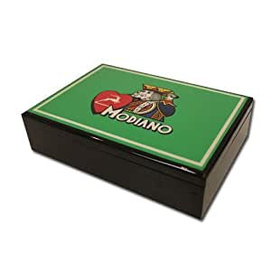 Modiano Hi Gloss Box - Green