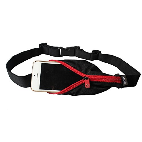 Ohuhu® Waterproof Sports Running Waist Pack Runner Belt