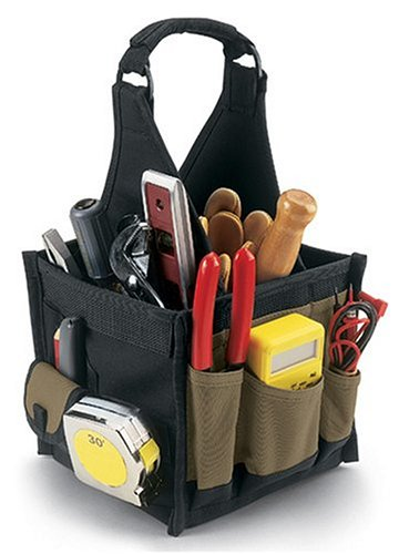 Custom LeatherCraft 1527 27 Pocket Electrical & Maintenance Tool Carrier
