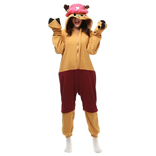 Adult Cartoon Chopper Jumpsuit Animal Hoodie Onesie Pajamas Sleepwear Size XL (Chopper Pajamas compare prices)