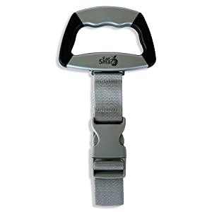EatSmart Precision Voyager Digital Luggage Scale w/ 110 lb. Capacity & SmartGrip by EatSmart